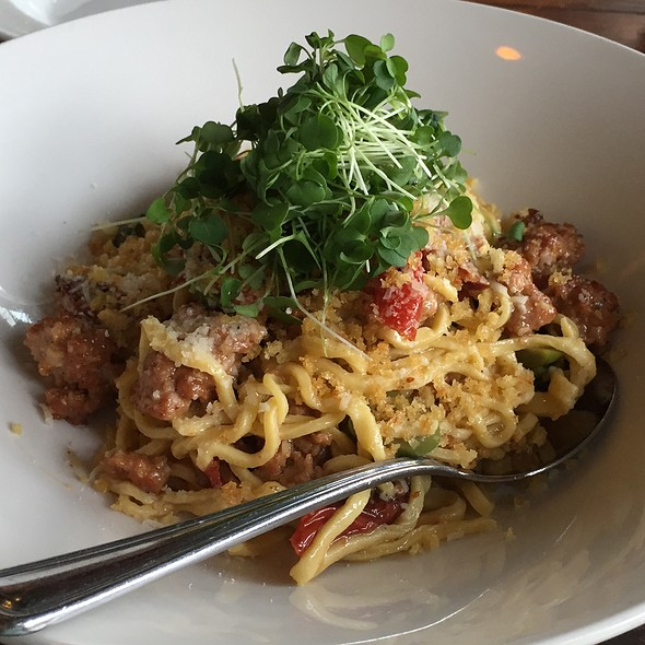 Spagettoni With Rabbit Sausage - MiNGO West, Beaverton, OR