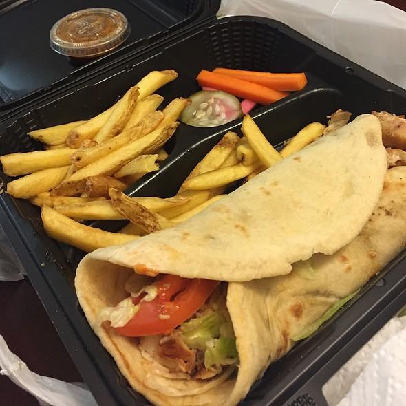Chicken Shawarma - Lebanese Taverna - Pentagon Row, Arlington, VA