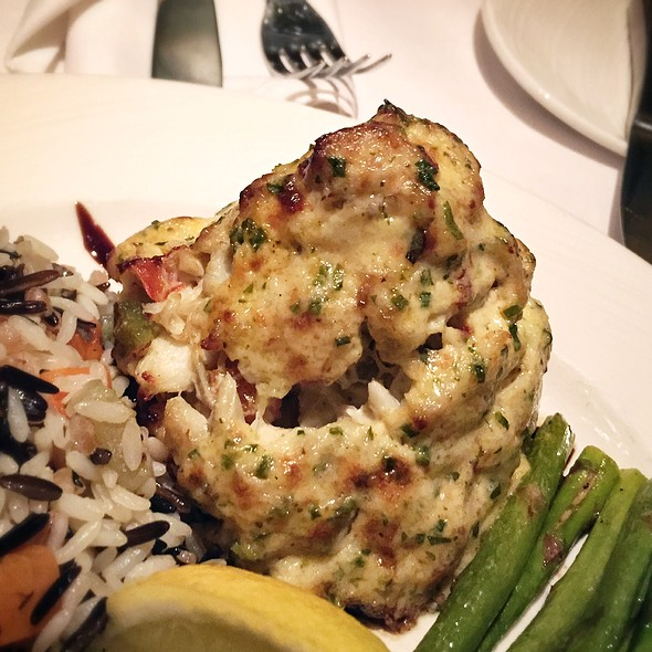 Portobello Crab Imperial - Gertrude's - Baltimore, Baltimore, MD