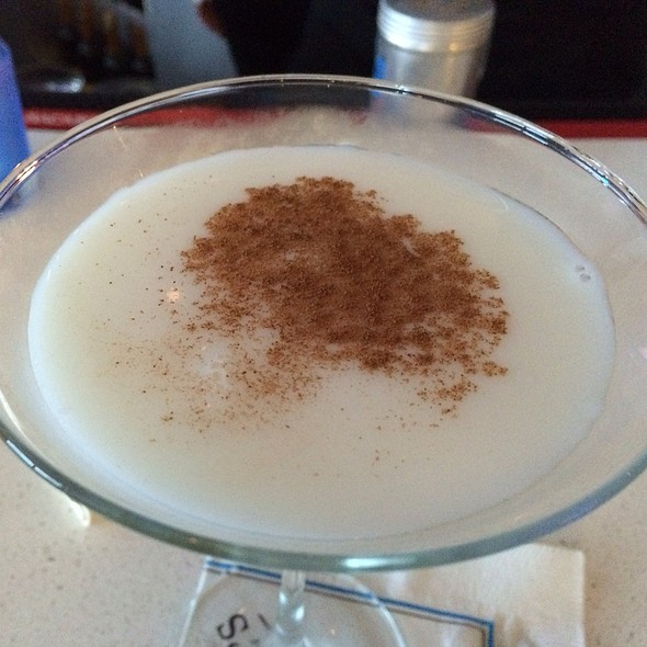 Spiked Rice Pudding Martini - McLoone's Pier House, Long Branch, NJ