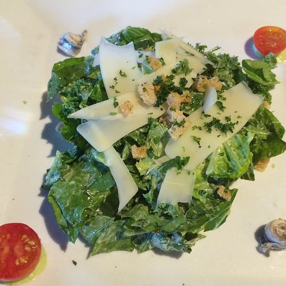 Caesar Salad with Anchovies - The Market Place Restaurant, Asheville, NC
