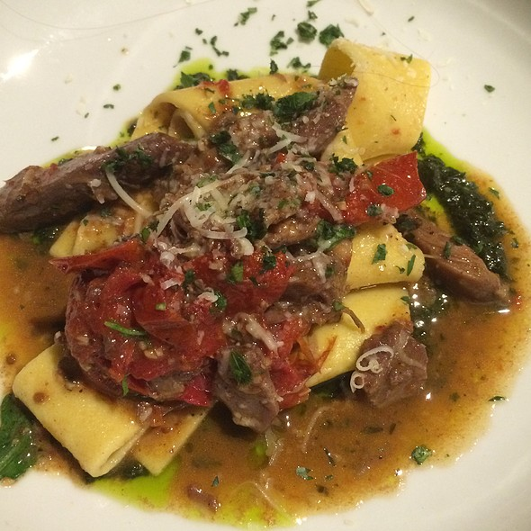 Pappardelle With Braised Lamb - The Market Place Restaurant, Asheville, NC