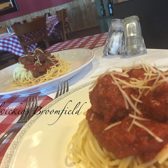 All You Can Eat Spaghetti - Delvickio's - Broomfield, Broomfield, CO