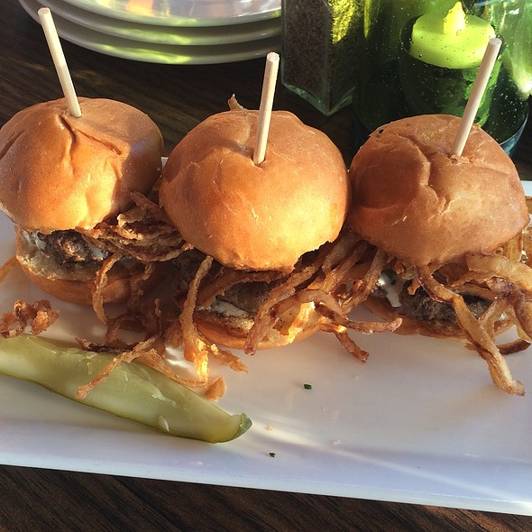 Sliders - Jimmy's Famous American Tavern, San Diego, CA