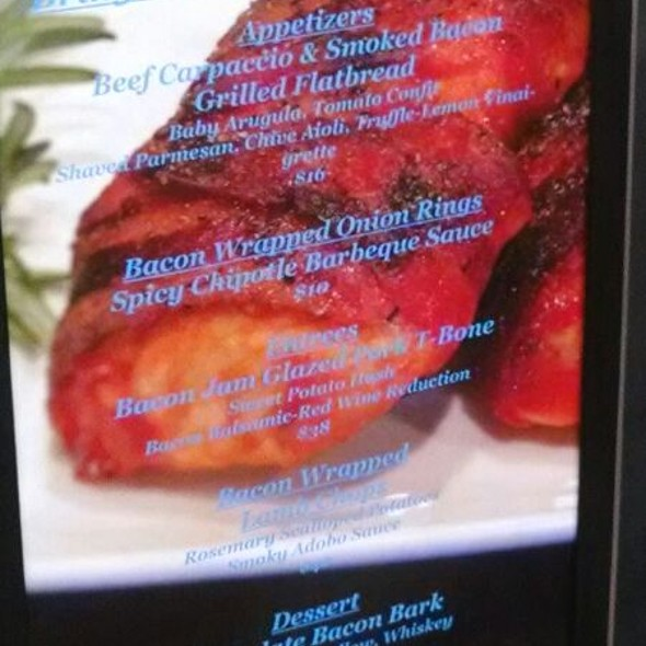 Bacon Specials - Austin's Steakhouse - Texas Station Gambling Hall & Hotel, Las Vegas, NV