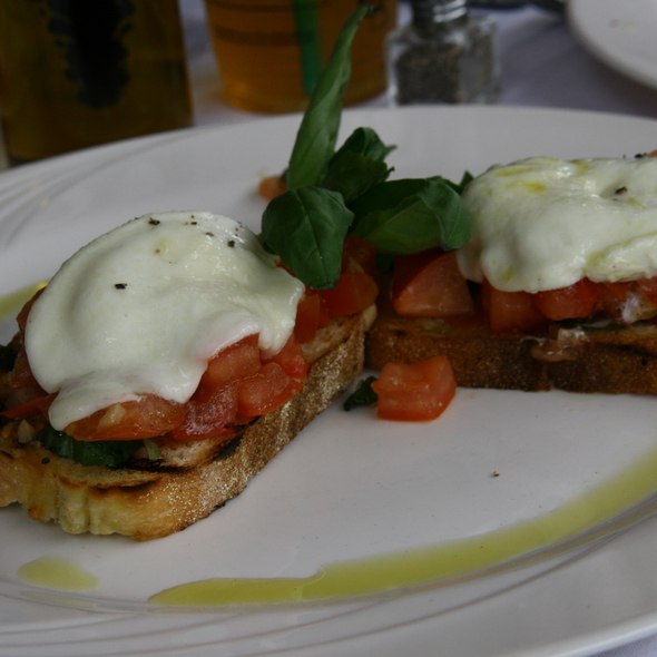 Fresh Mozzarella & Tomato Bruschetta  - Firenze, New York, NY