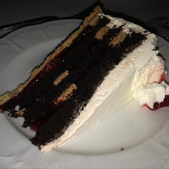 Black Forest Cake - Black Forest Inn, Stanhope, NJ