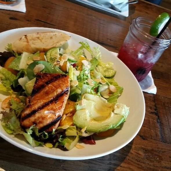 Salmon With Avocado Cucumber Salad - BarnLight Eatery, Frisco, TX