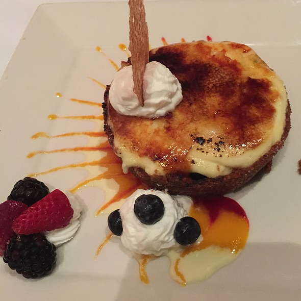 Blueberry Creme Brulee - Johnny V, Fort Lauderdale, FL