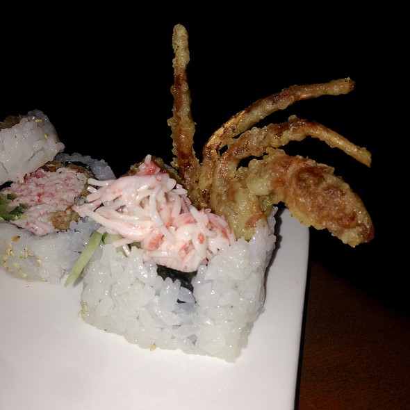 soft shell crab roll - Sapporo - Scottsdale Main Dining Room, Scottsdale, AZ