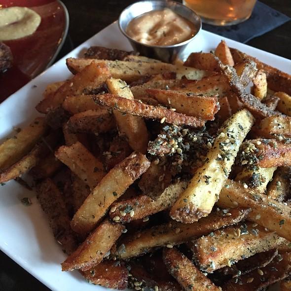 Zaatar Spiced Fries - Holland House Bar & Refuge, Nashville, TN