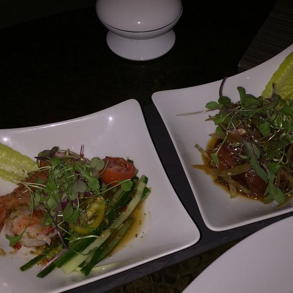 Seafood Duet - Wai'Olu Ocean Cuisine, Honolulu, HI