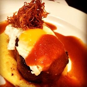 Dry Aged Sirloin W/ Fried Egg - The Capital Grille - Jacksonville, Jacksonville, FL