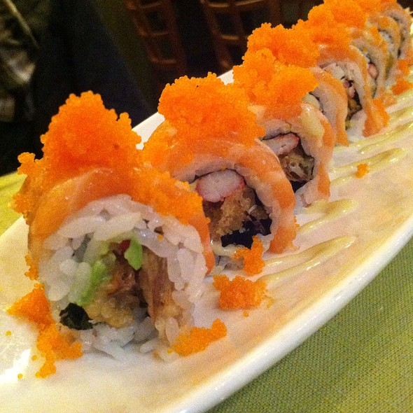 Alaskan Maki Roll - Kohan Japanese Restaurant, Chicago, IL