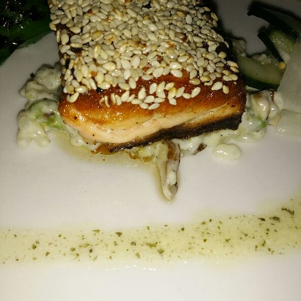 Sesame Salmon Close Up - Unum Restaurant, Washington, DC