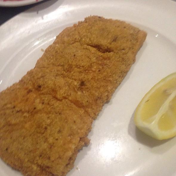 Chicken Schnitzel - Hummus Bar & Grill, Tarzana, CA