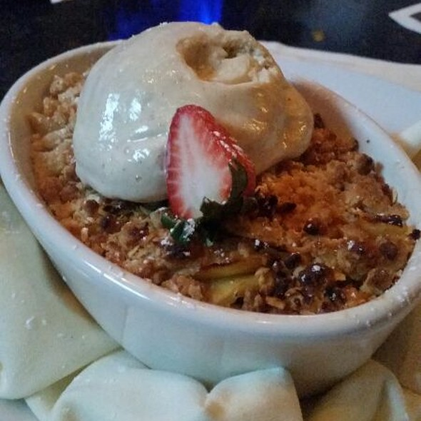 Local Oatmeal Apple Crisp - Ten Prime Steak & Sushi - Providence, Providence, RI