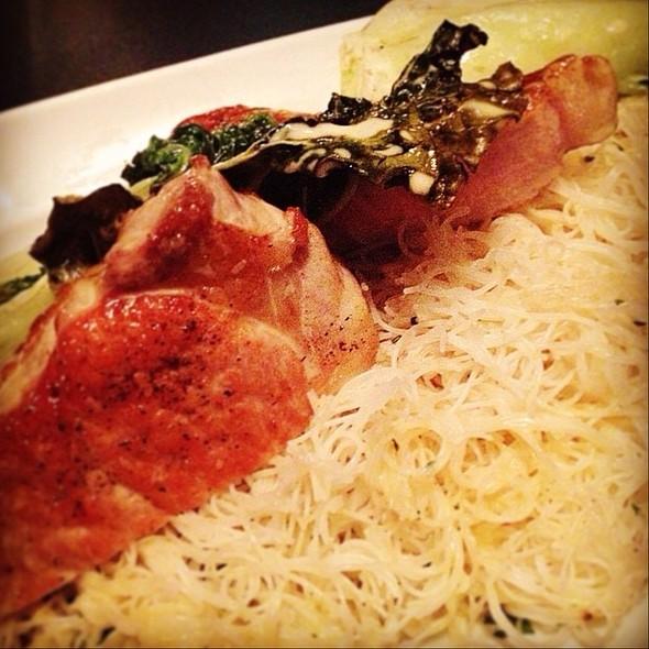 Japanese Lemongrass Pork - Zinc Restaurant, Edmonton, AB