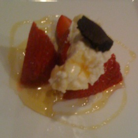 Strawberries - Red Stag Grill-Grand Bohemian Hotel Asheville, Asheville, NC