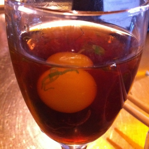Oyster Shooter With Quail Egg - Canal Club, Venice, CA