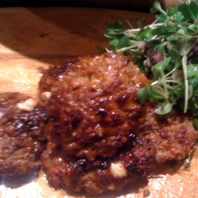Goat Sausage - Red Stag Grill-Grand Bohemian Hotel Asheville, Asheville, NC