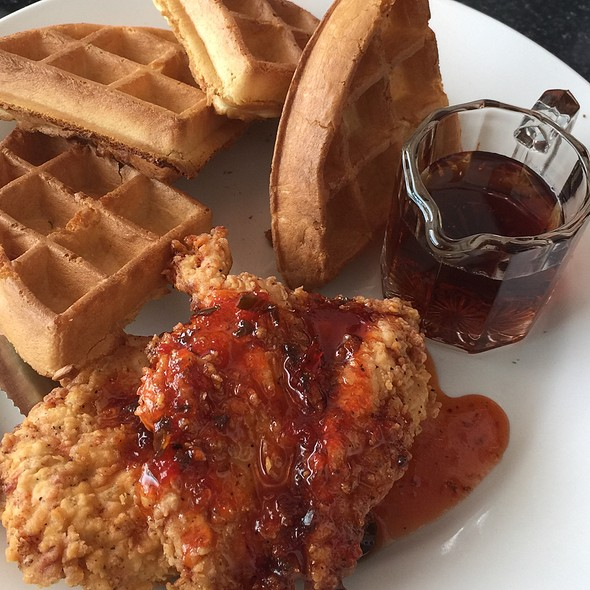 Chicken and Waffles - Trio Restaurant - Charlotte, Charlotte, NC
