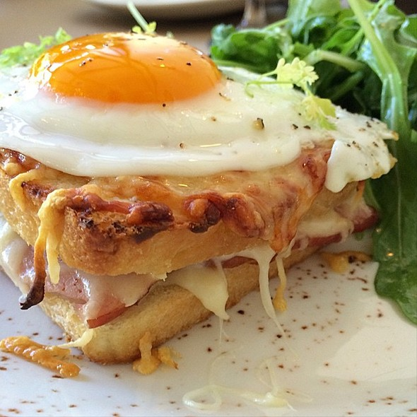 croque monsieur - Hillside Supper Club, San Francisco, CA