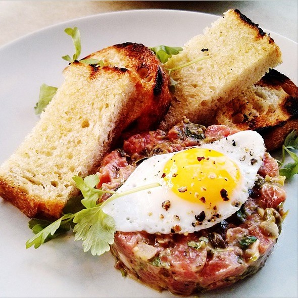 steak tartare - Hillside Supper Club, San Francisco, CA