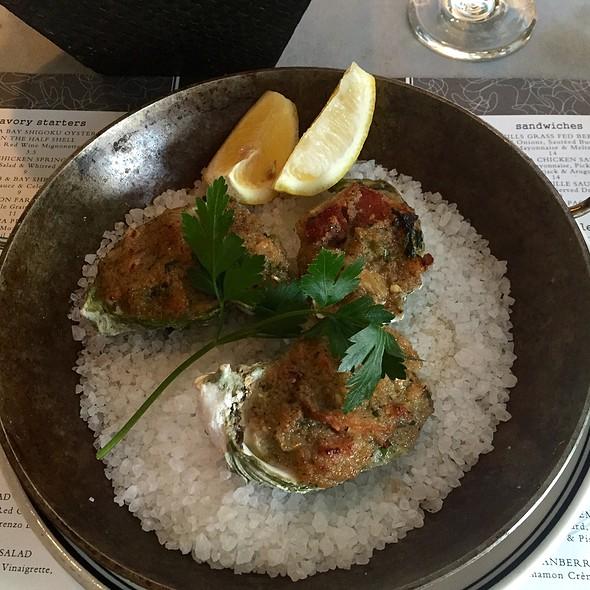 Oysters Rockefeller - Steelhead Diner, Seattle, WA