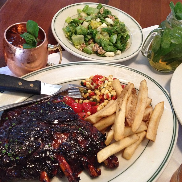 Country Smoked And Bbqd Spare Ribs With Succotash And Fries - MacArthur Park - Palo Alto, Palo Alto, CA