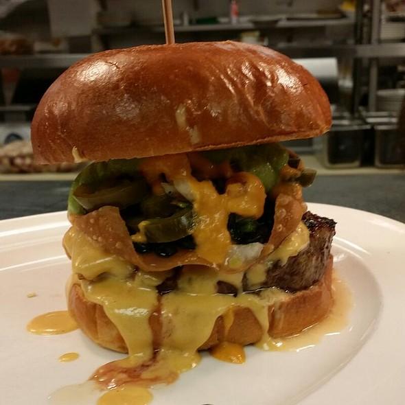 Nacho Burger - Kelsey's at Pechanga Resort & Casino, Temecula, CA