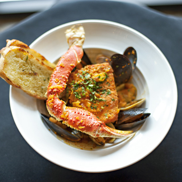 Famous Dungeness Crab Cioppino - 10 Below, Bend, OR
