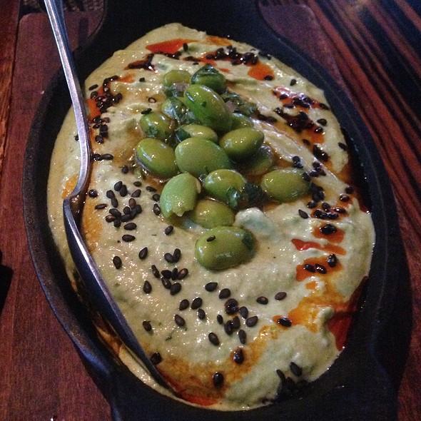 Edamame Hummus - Dallas Chop House, Dallas, TX