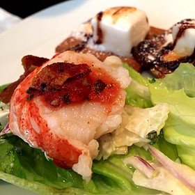 Lobster Lettuce Wraps - Fleming's Steakhouse - Tampa, Tampa, FL