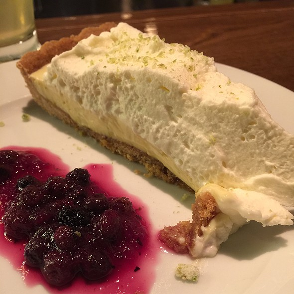 Key Lime Pie With Huckleberry Compote - Betty, Seattle, WA