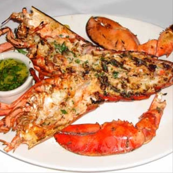 Charbroiled Lobster - The Lobster, Santa Monica, CA
