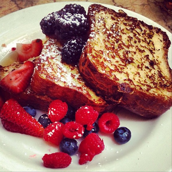French Toast - The Restaurant at The Standard, Downtown LA, Los Angeles, CA