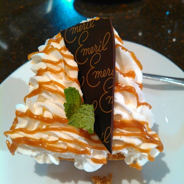 Banana Cream Pie - Emeril's Chop House at the Sands Casino Resort Bethlehem, Bethlehem, PA