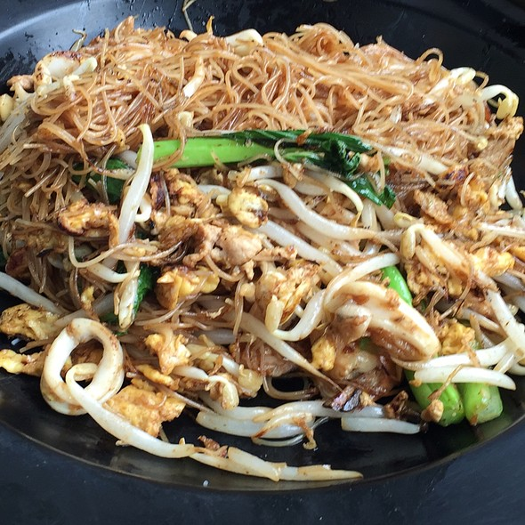 fried bee hoon meet