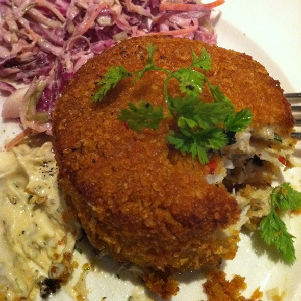 Crab Cakes - Bubby's High Line