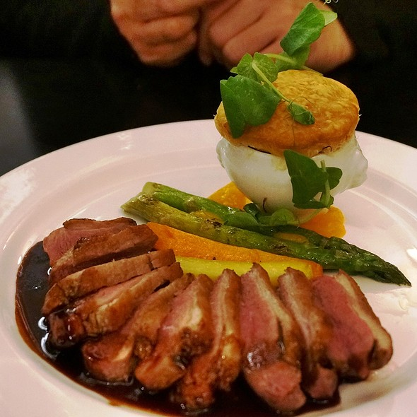 Pan Seared Quebec Duck Breast - Rosewater, Toronto, ON