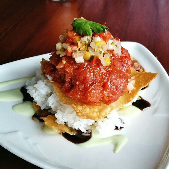 Ahi Tuna Poke - Riva Grill, South Lake Tahoe, CA