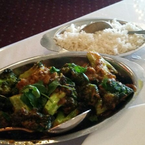 Brocolli Masala - Shalimar Indian Restaurant, Louisville, KY