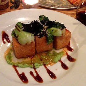 Fried Tofu With Citrus Chili Sauce - The Barrel Room at City Winery, New York, NY