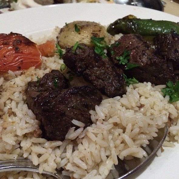 Beef Kebob Plate - Byblos Restaurant - Boston, Norwood, MA