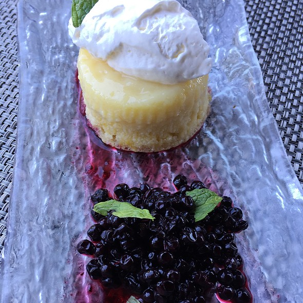 Meyer Lemon Pudding Cake - Willi's Wine Bar, Santa Rosa, CA