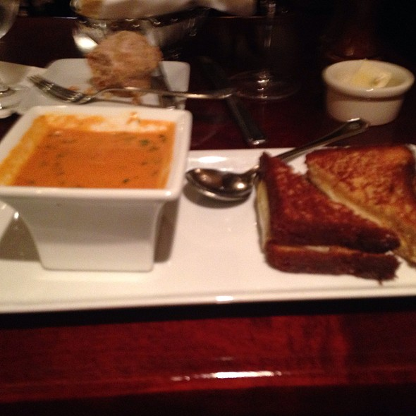 Tomato Soup And Grilled Cheese Sandwich - Shuckers, Seattle, WA