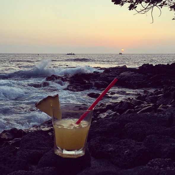 Vodka with Pineapple and Orange Juice - Don the Beachcomber - Royal Kona Resort, Kailua-Kona, HI