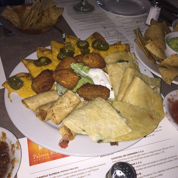 Botanas Platter - Paloma Blanca Mexican Cuisine, San Antonio, TX