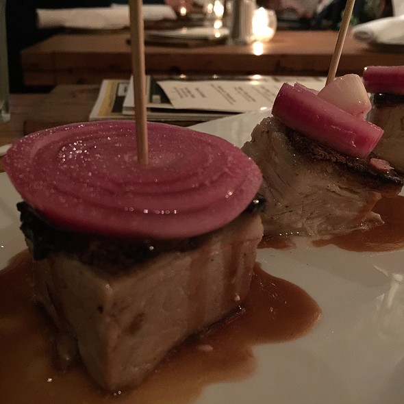 Pork Belly - Fraunces Tavern, New York, NY